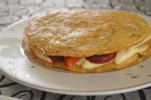 katli patatsli omlet