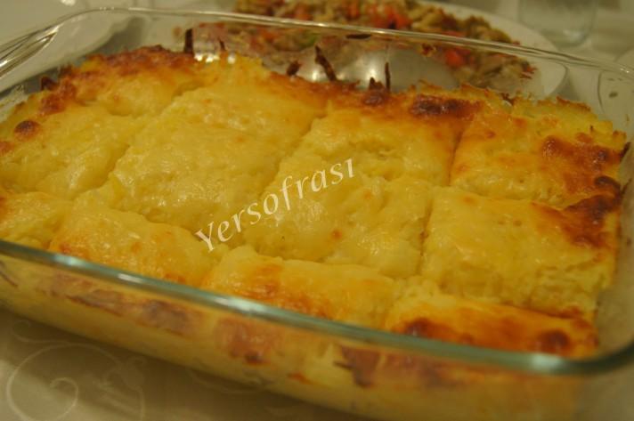 firinda patates püresi