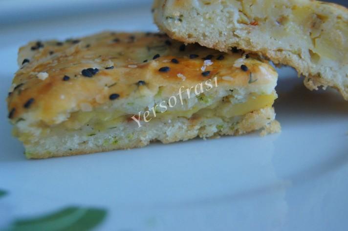 patates dolgulu dereotlu börek